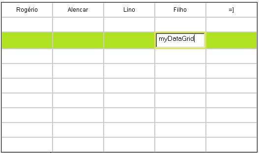 Javascript: DataGrid - Rogério Lino