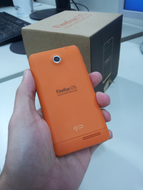 Developer preview Firefox OS